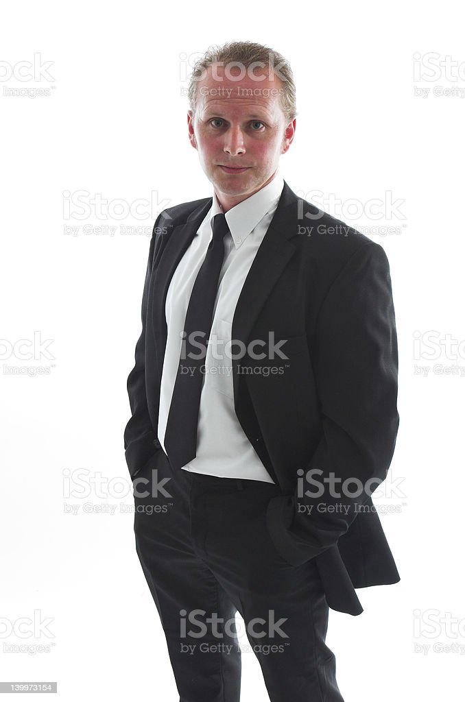 Confident man royalty-free stock photo