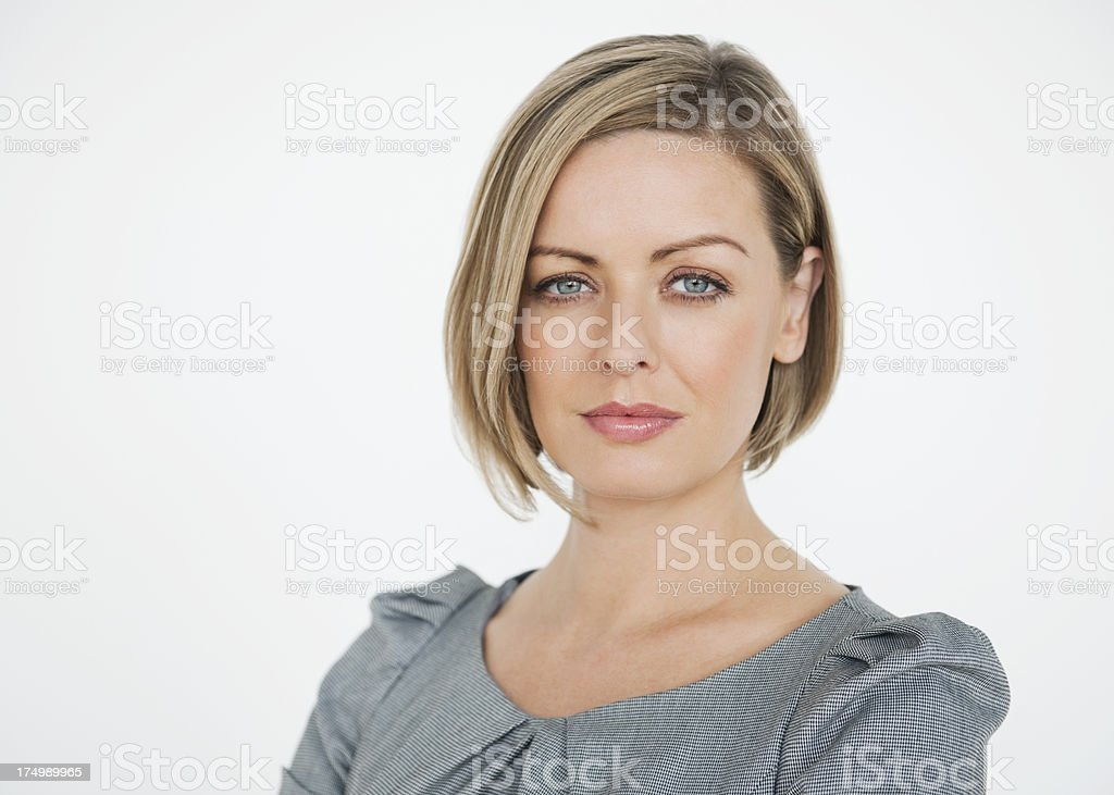 Confident Mid Adult Female Executive royalty-free stock photo