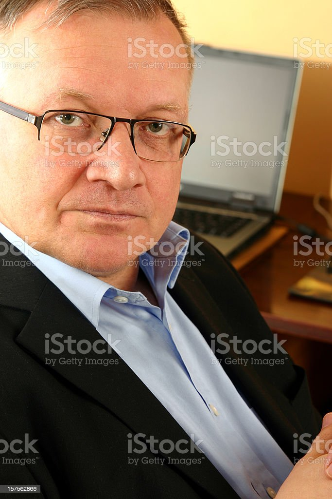 Confident professional stock photo