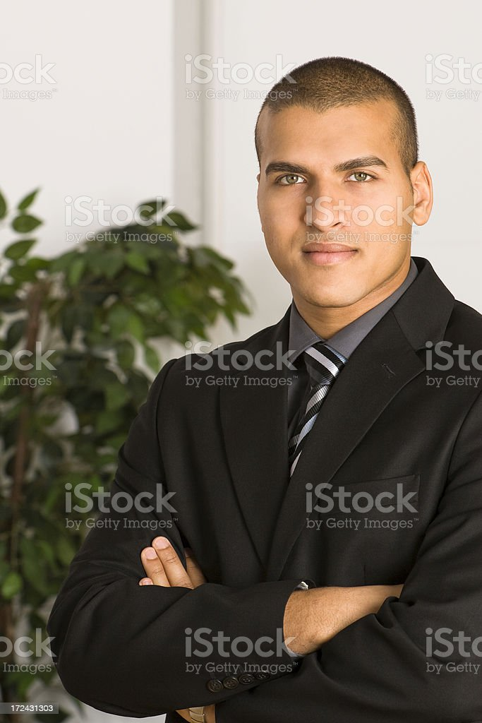 Confident Successful Businessman royalty-free stock photo