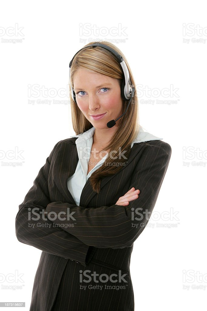 Confident Support royalty-free stock photo