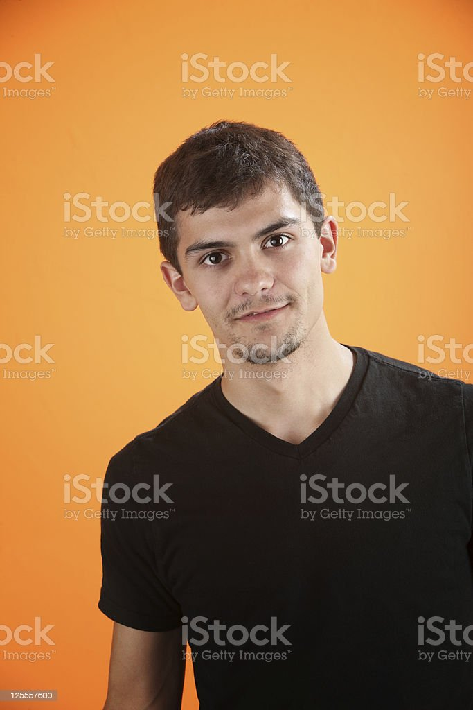 Confident Teen stock photo
