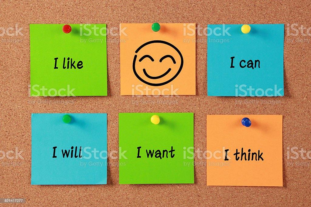 Confident Thinking stock photo
