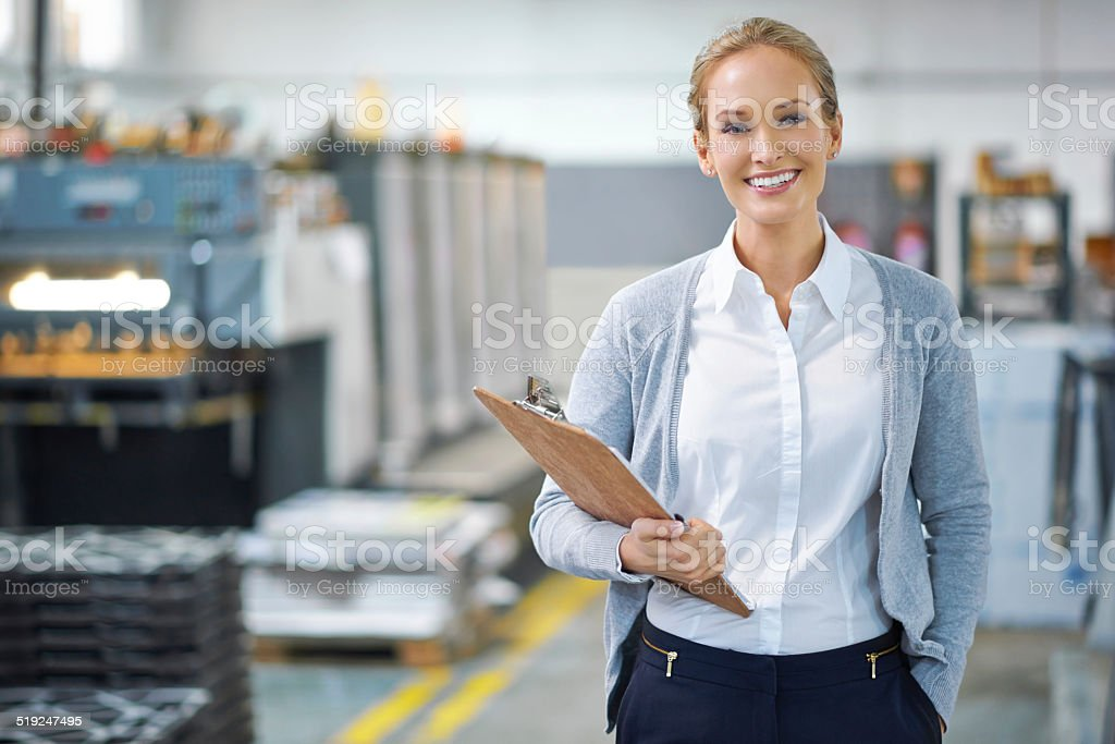 Confident we can get it done stock photo