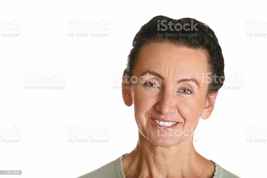 Confident woman stock photo