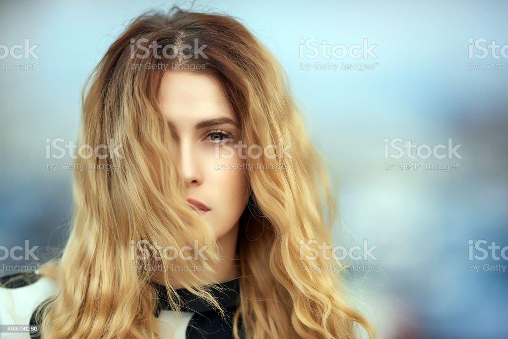 confident woman portrait stock photo