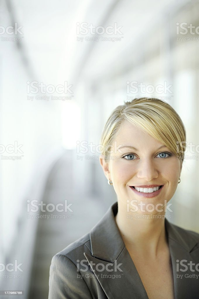 confident young businesswoman royalty-free stock photo