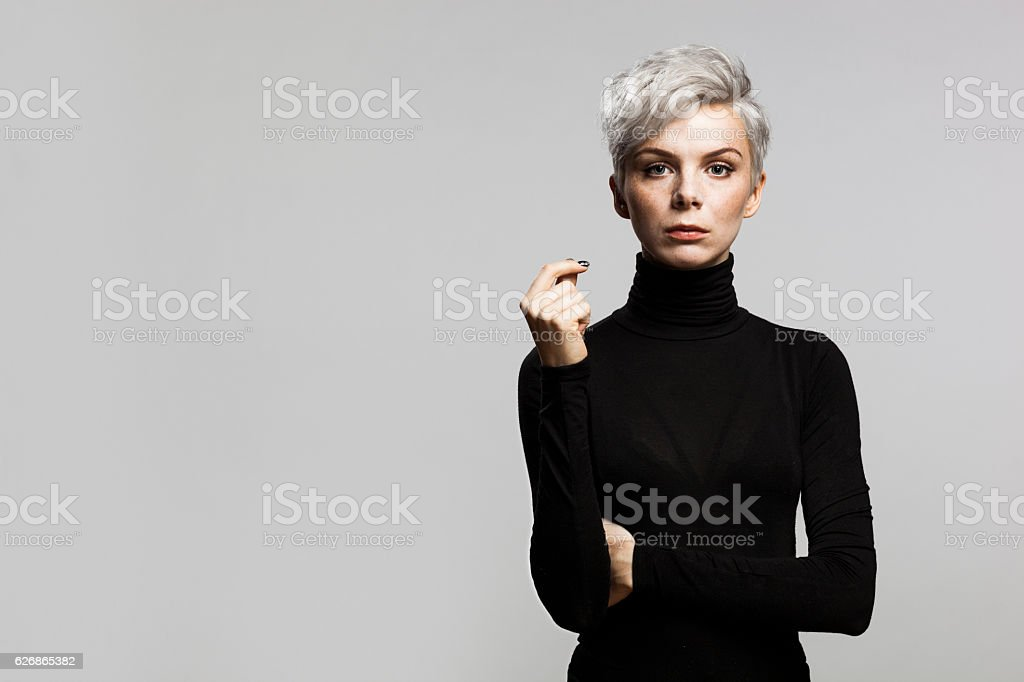 Confident Young Enterpreneur stock photo