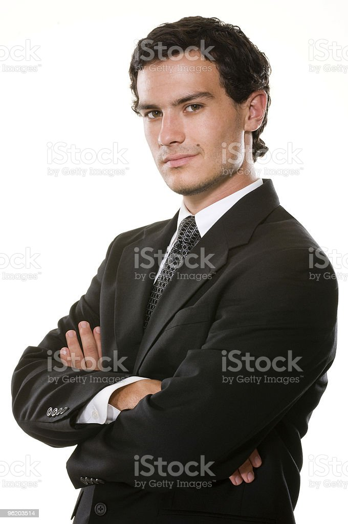 Confident Young Executive stock photo