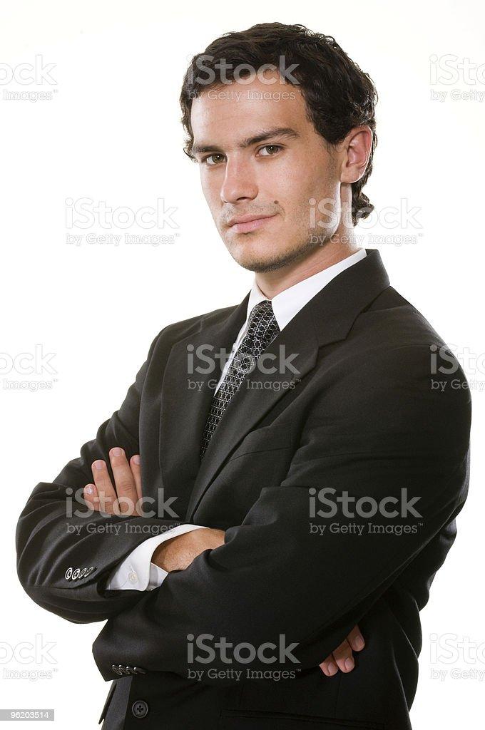 Confident Young Executive stock photo