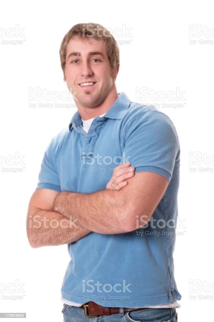 Confident Young Man royalty-free stock photo