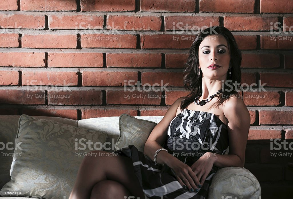 Confident Young Woman royalty-free stock photo