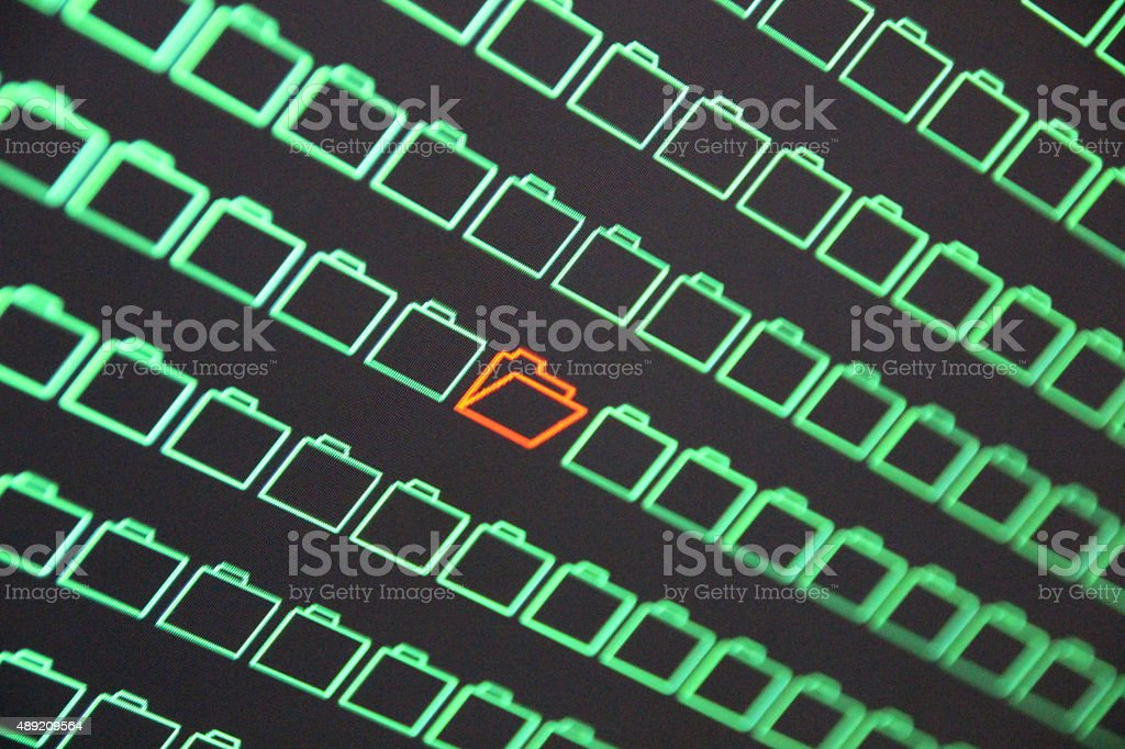Confidential and Copyrighted Data Theft stock photo