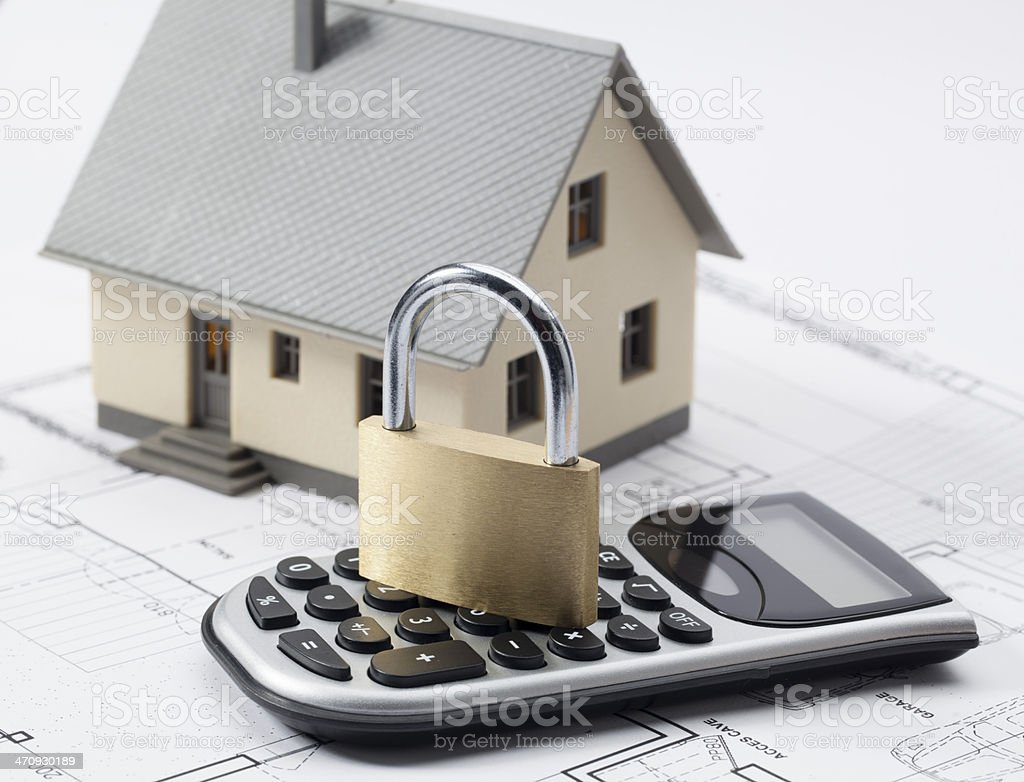 confidential home renovation extension study royalty-free stock photo