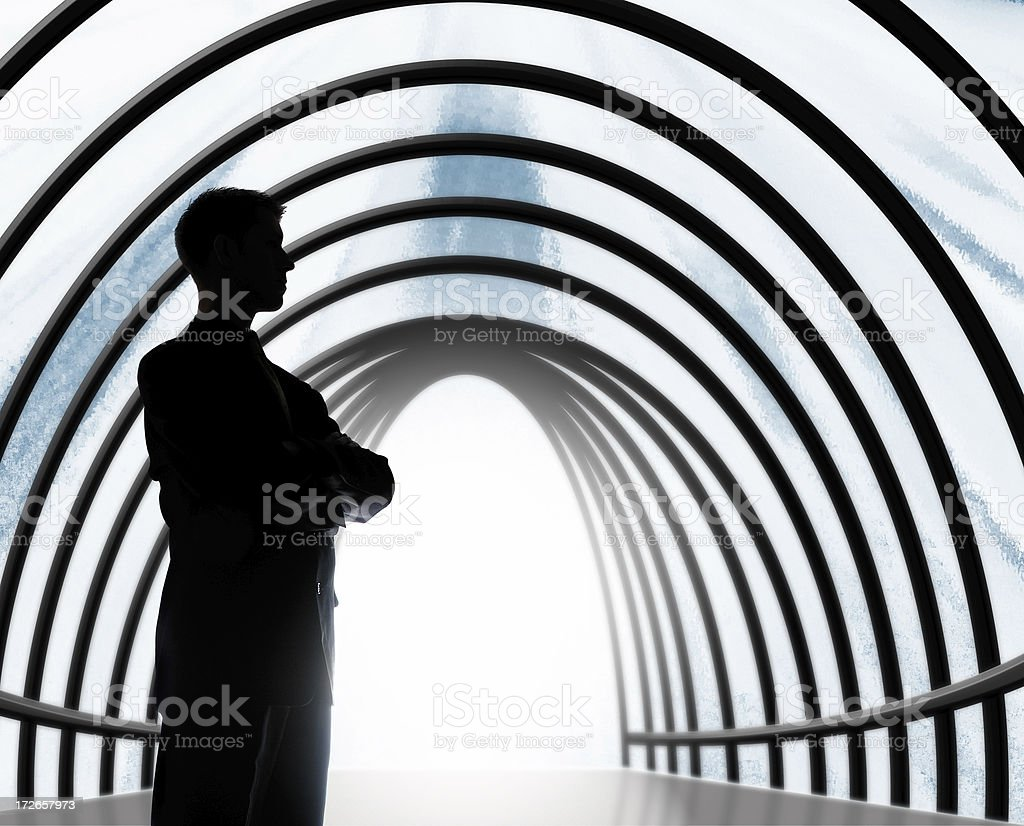 Confidently Guided royalty-free stock photo