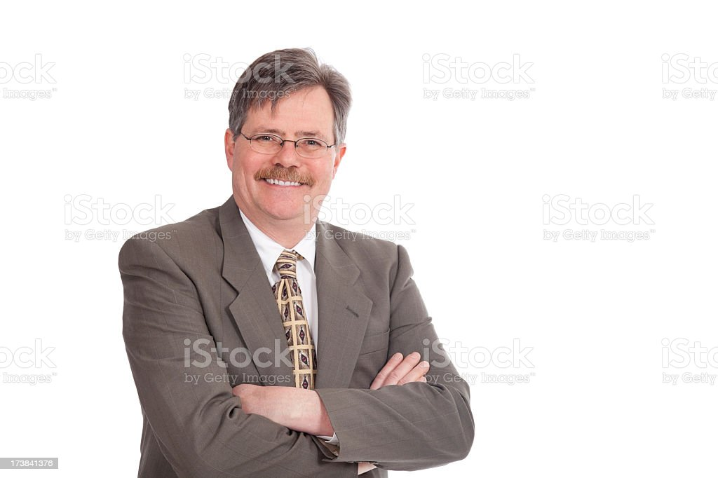 confindent businesman royalty-free stock photo