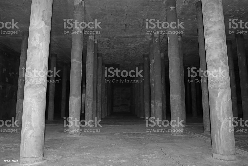 confined space area stock photo