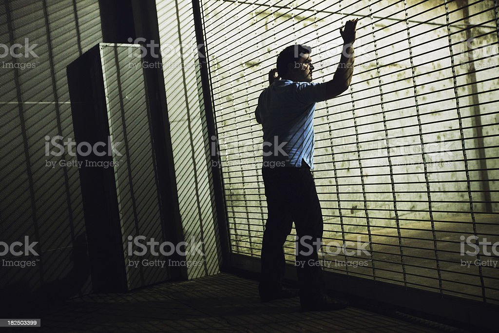 Confinement royalty-free stock photo