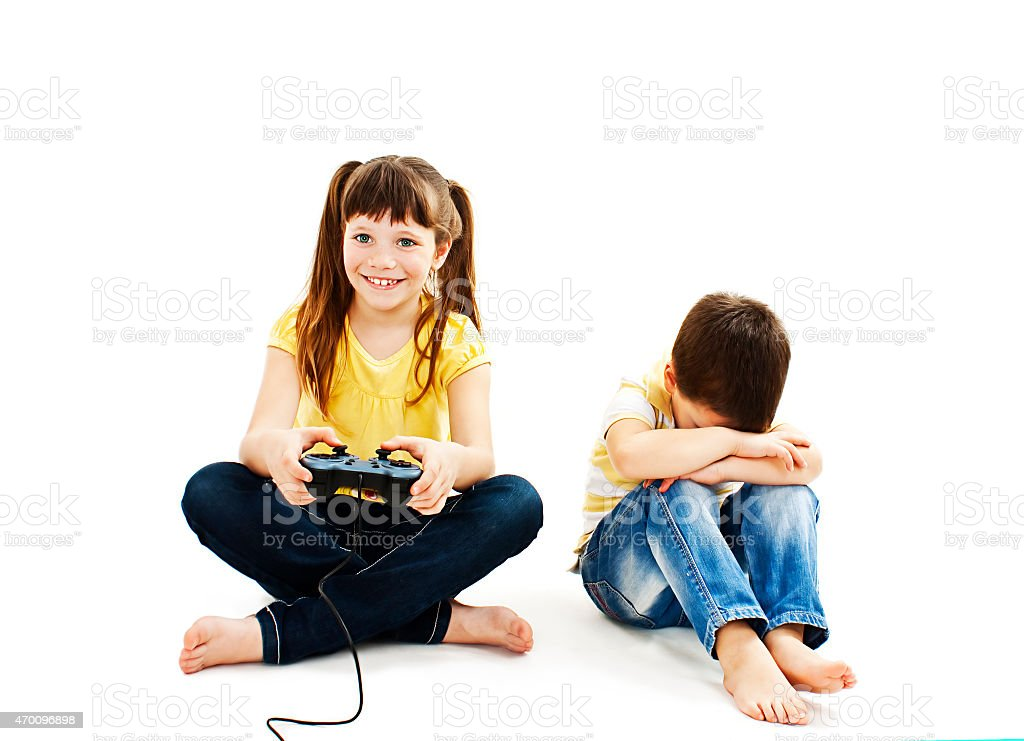 Conflict for games stock photo