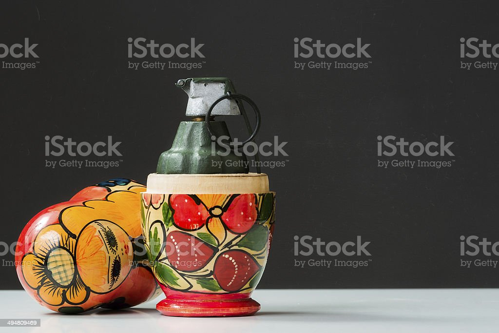 Conflict in Eastern Europe royalty-free stock photo