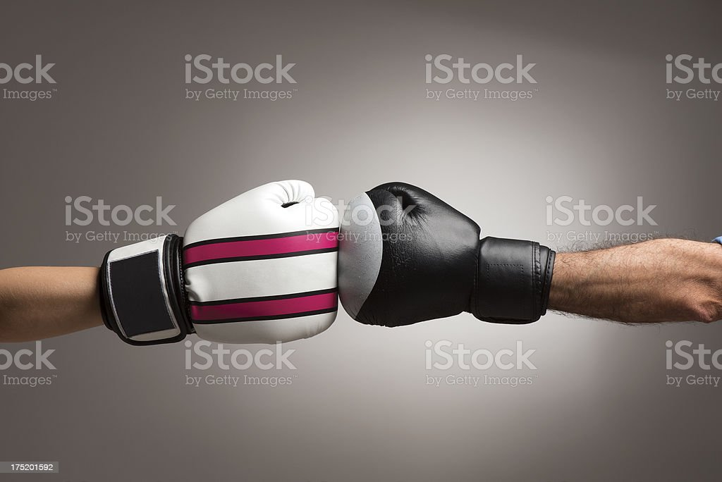 Conflict. royalty-free stock photo