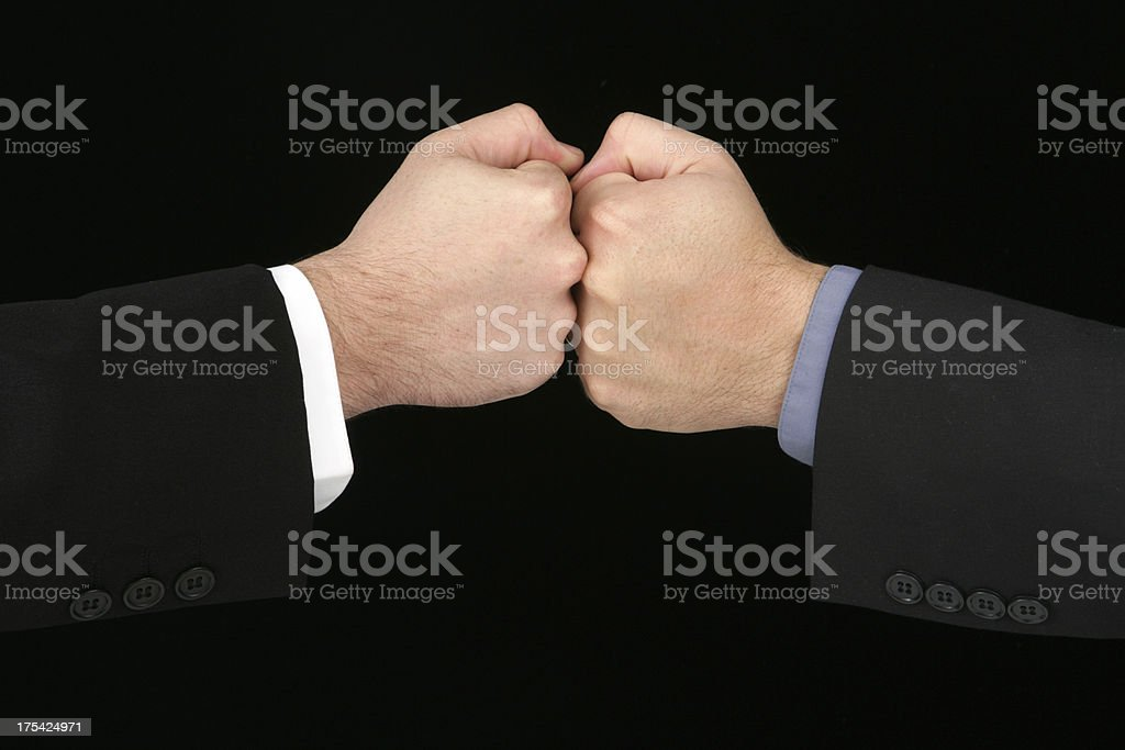 Conflict royalty-free stock photo