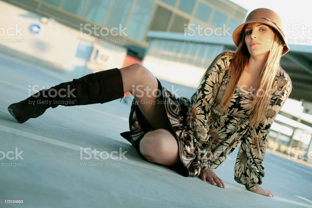 confortable here royalty-free stock photo