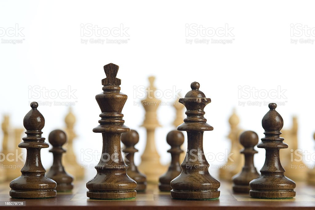 Confrontation, Competition or Conflict ? stock photo