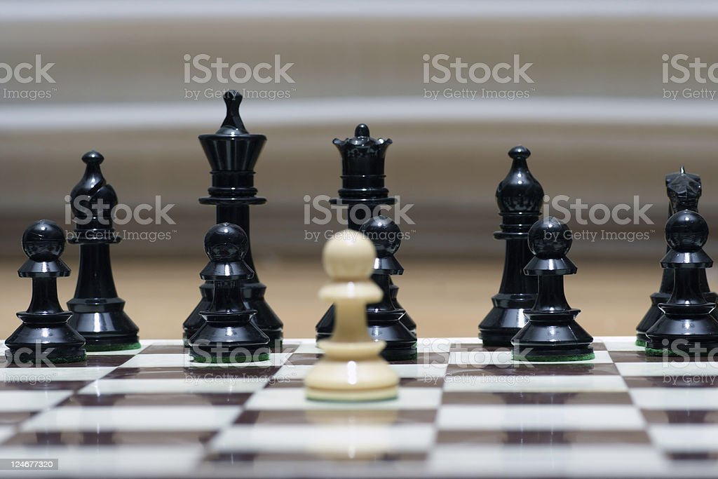 Confrontation royalty-free stock photo