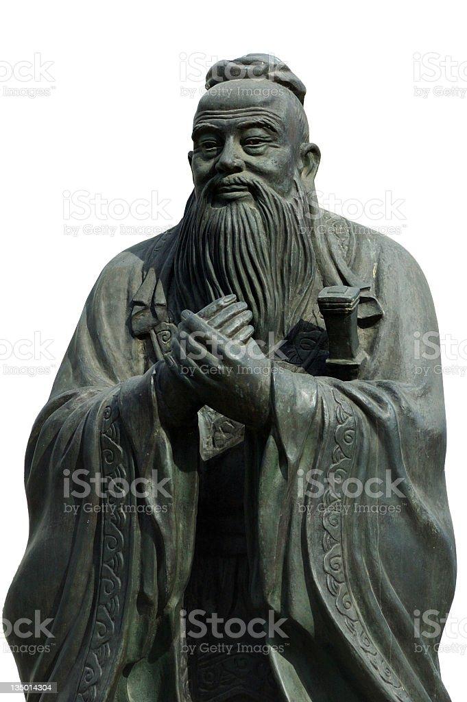 Confucius stock photo