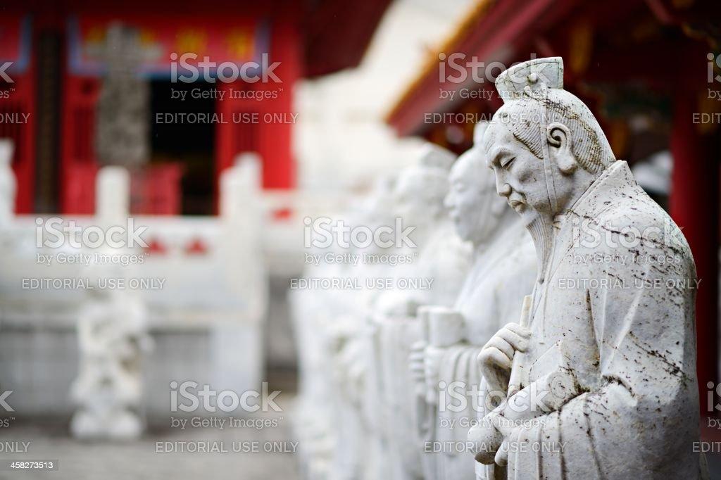 Confucius Shrine stock photo