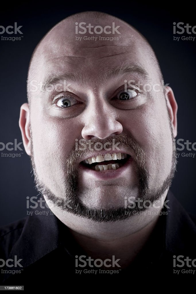 Confused man royalty-free stock photo