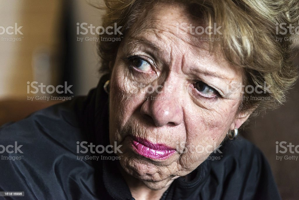 Confused royalty-free stock photo