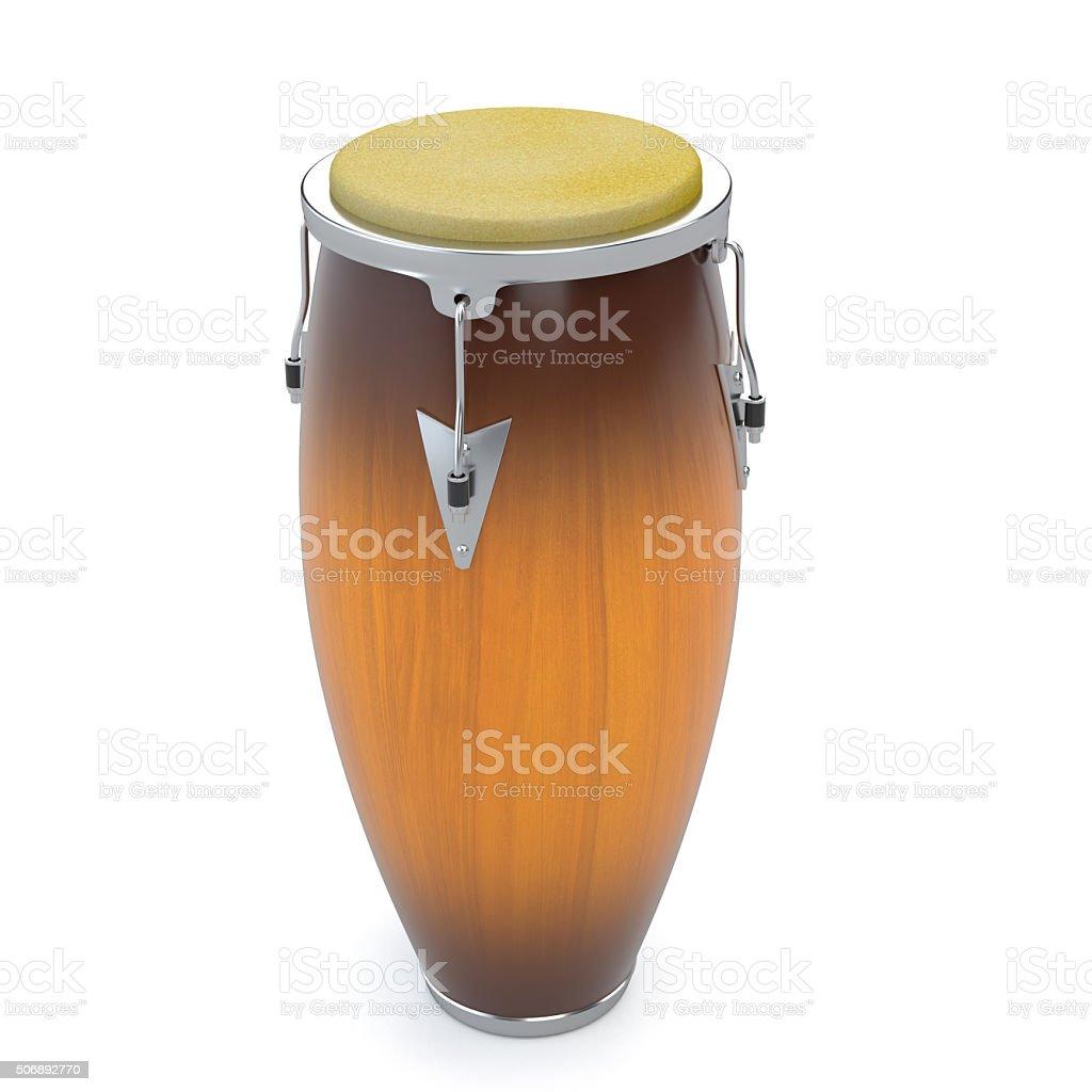 Conga drum stock photo