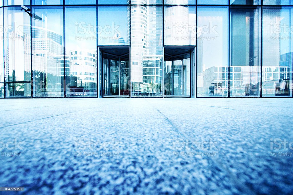 Conglomerate entrance royalty-free stock photo