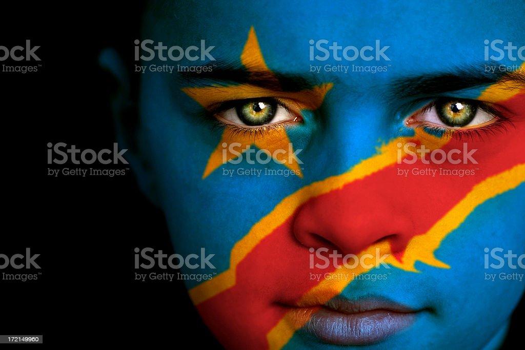 Congo boy stock photo