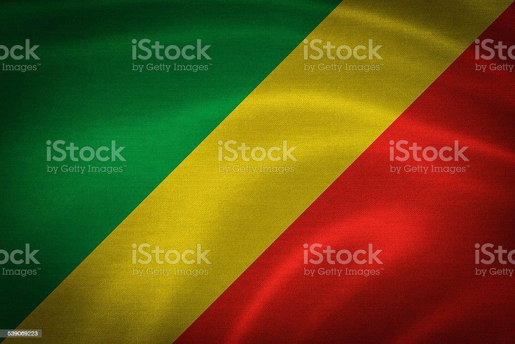congo flag stock photo