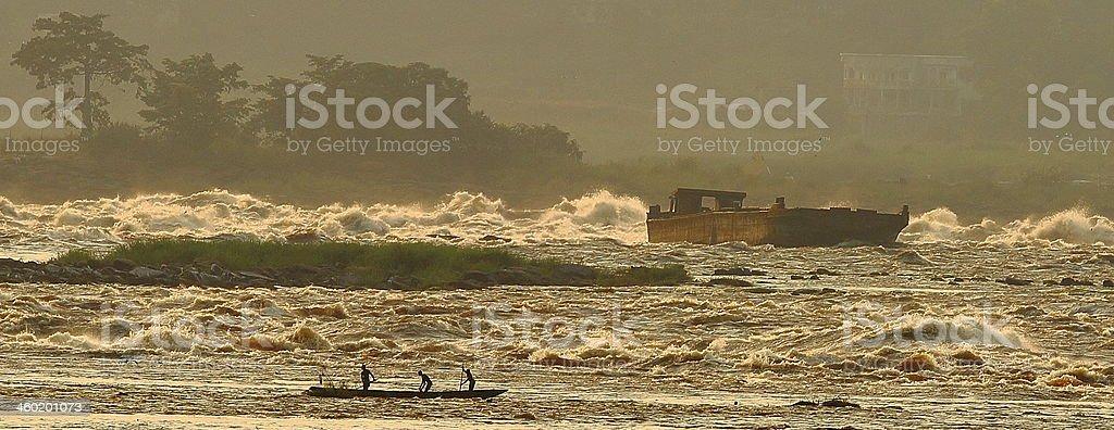 Congo River stock photo