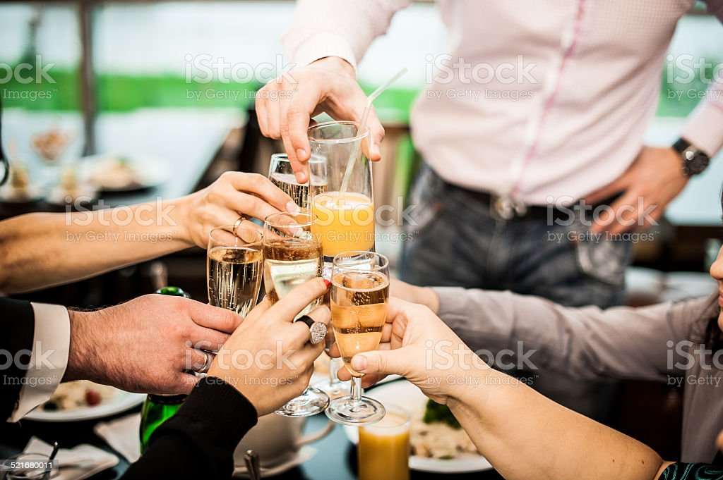 Congratulation during the holiday 758. stock photo