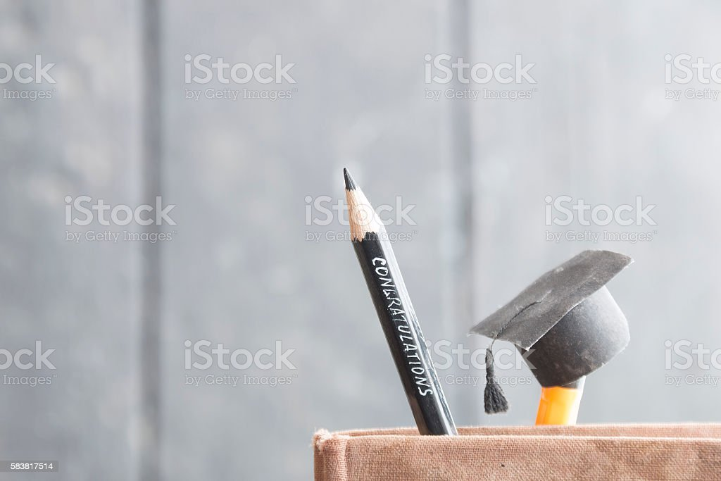 congratulations graduates background stock photo