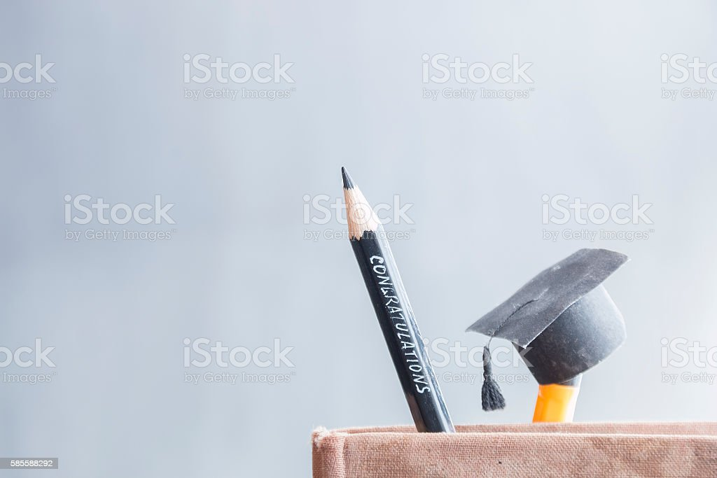 congratulations graduates background stock photo