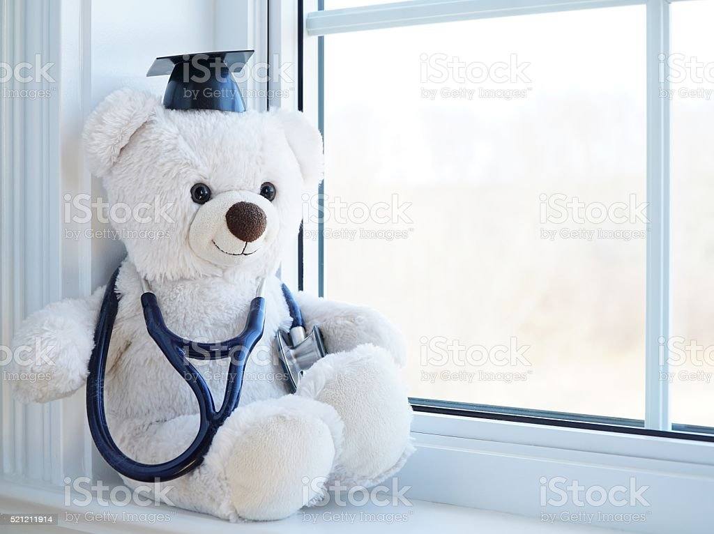 Congratulations Medical Degree Humor stock photo