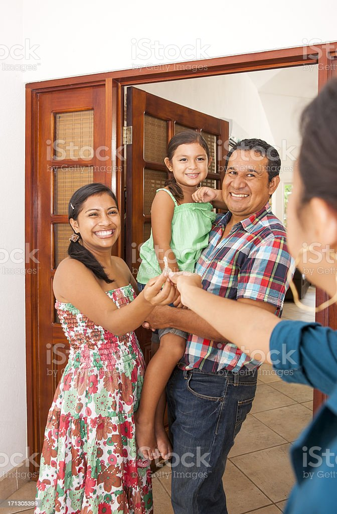 Congratulations on your new house royalty-free stock photo
