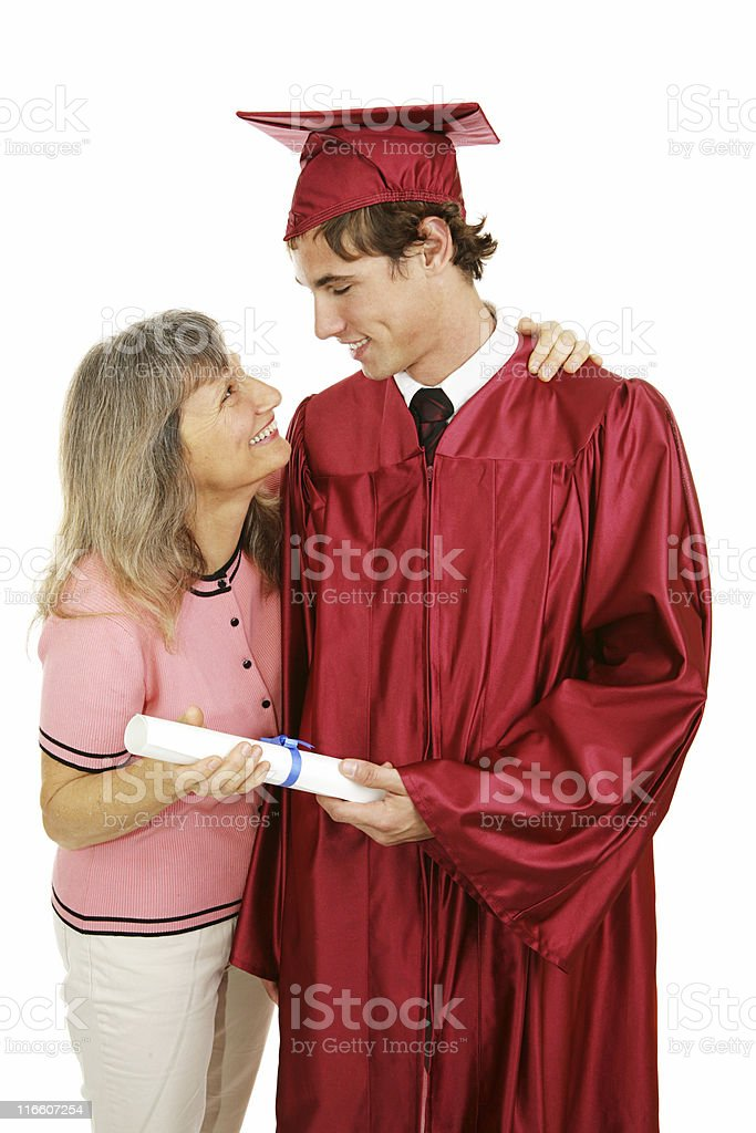 Congratulations Son! royalty-free stock photo