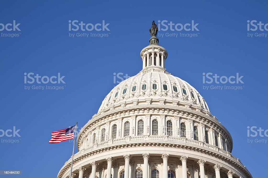 U.S. Congress Capitol Building stock photo