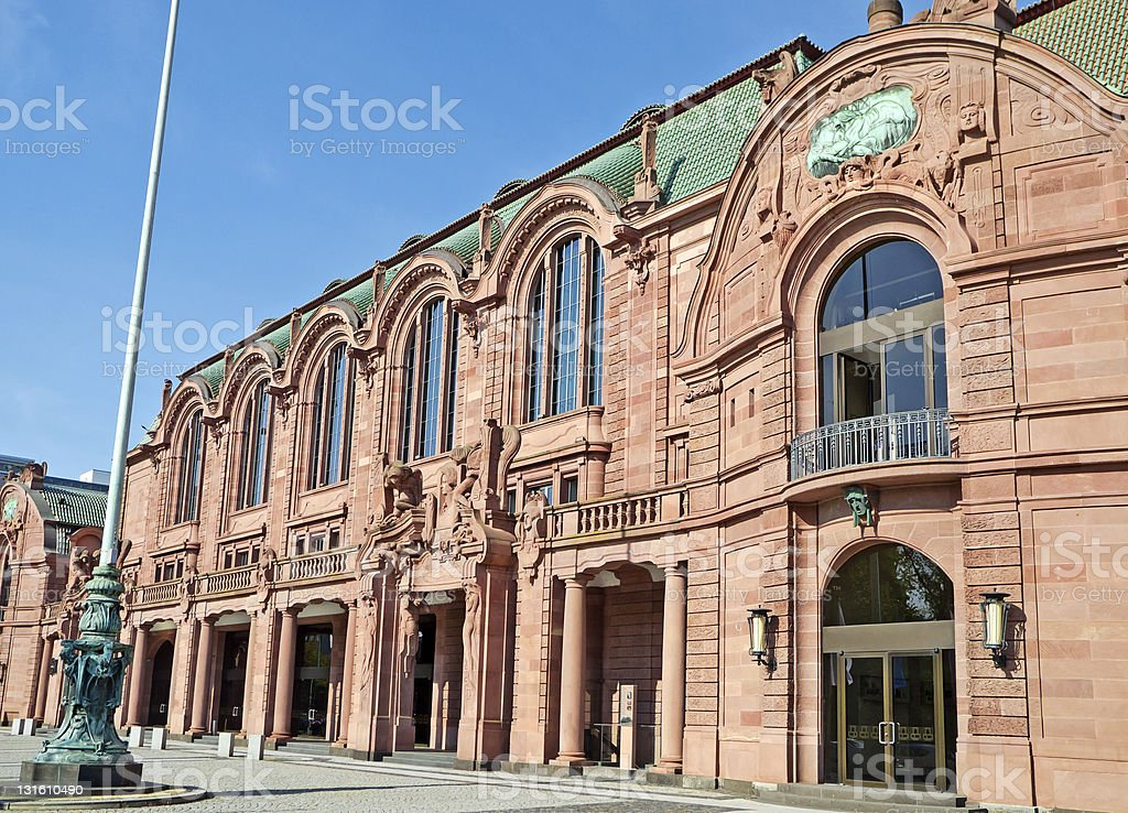 Congress Center Mannheim stock photo