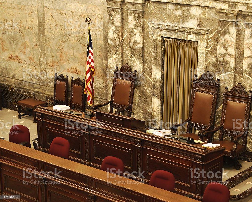 Congress Chamber stock photo