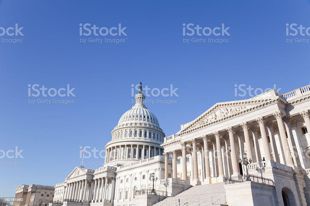 U S Congress famous Capitol Building stock photo