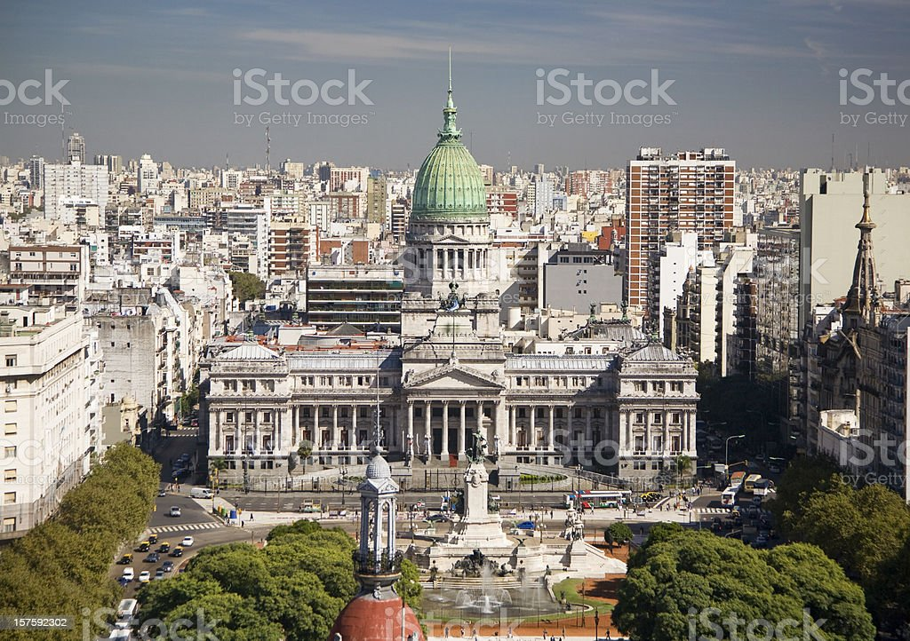 Congress in Buenos Aires Argentina royalty-free stock photo