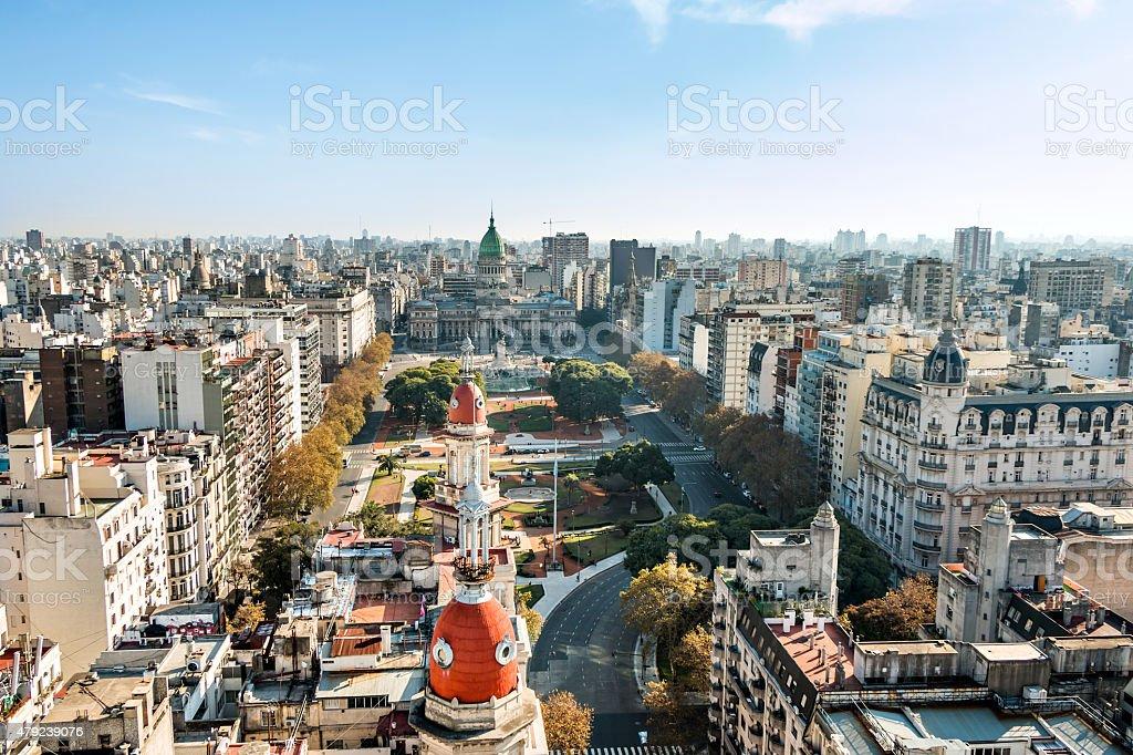 Congreso de la Nación Argentina, Buenos Aires Argentinien stock photo